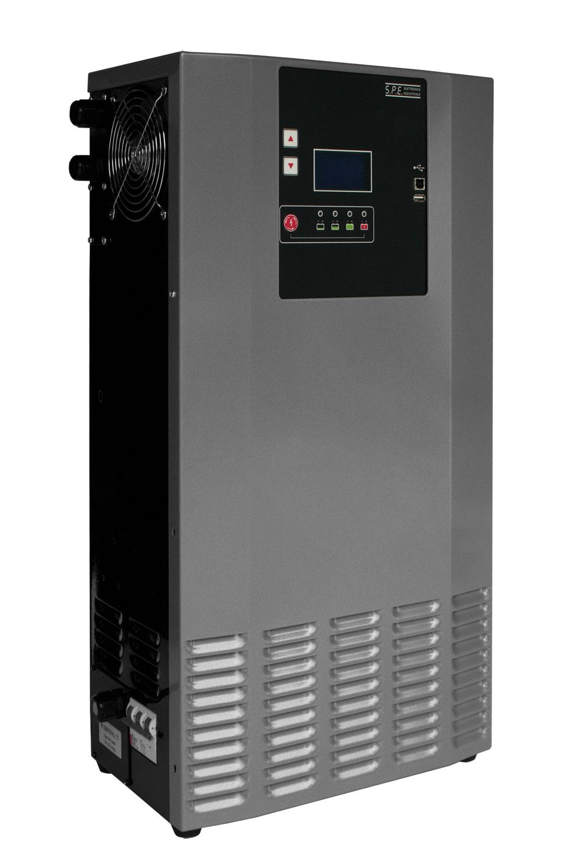 Q Batteries energiespar. Hochfrequenzladegerät 48V 120A
