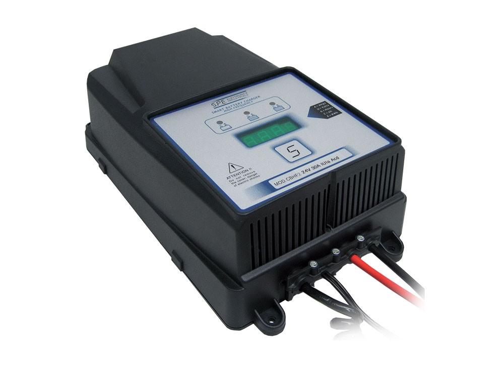 Q Batteries energiesparendes Hochfrequenzladegerät 24V 25A