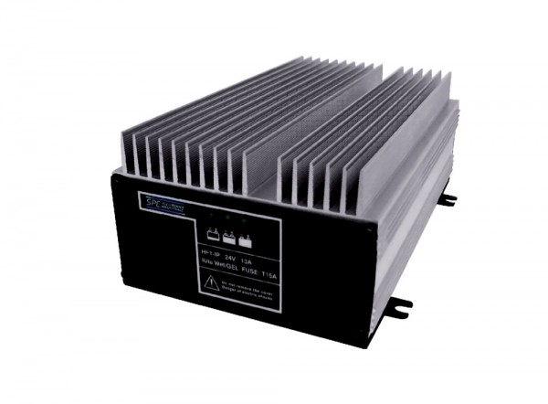 Q-Batteries energiesparendes Hochfrequenzladegerät 24V 10A by S.P.E. Charger - HF1 - IP