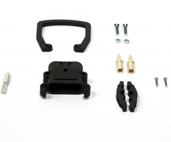 REMA Stecker Euro Din 320A 95mm² (Griff, Kodierstift grau, Hauptkontakt, Zugentlastung)